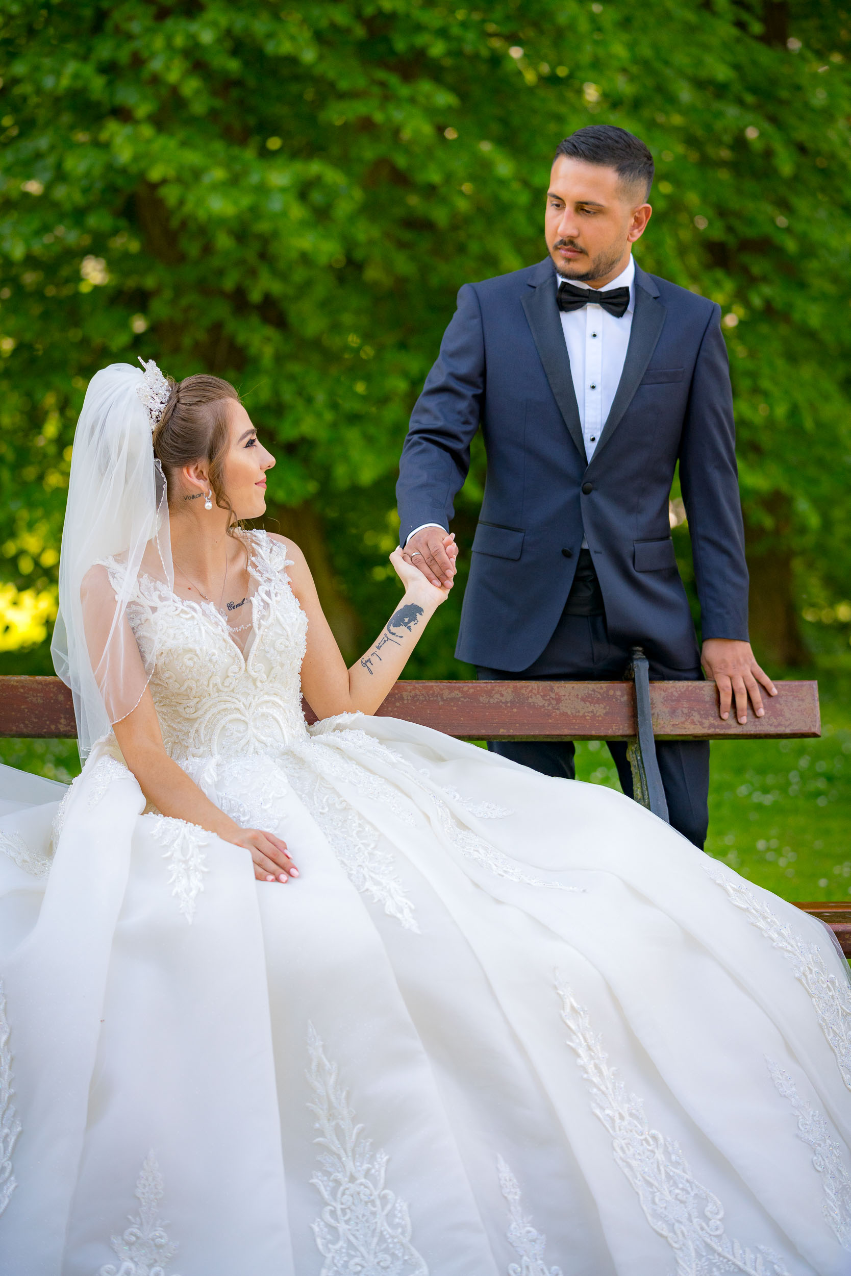 Photograph of a Turkish wedding in Brussels