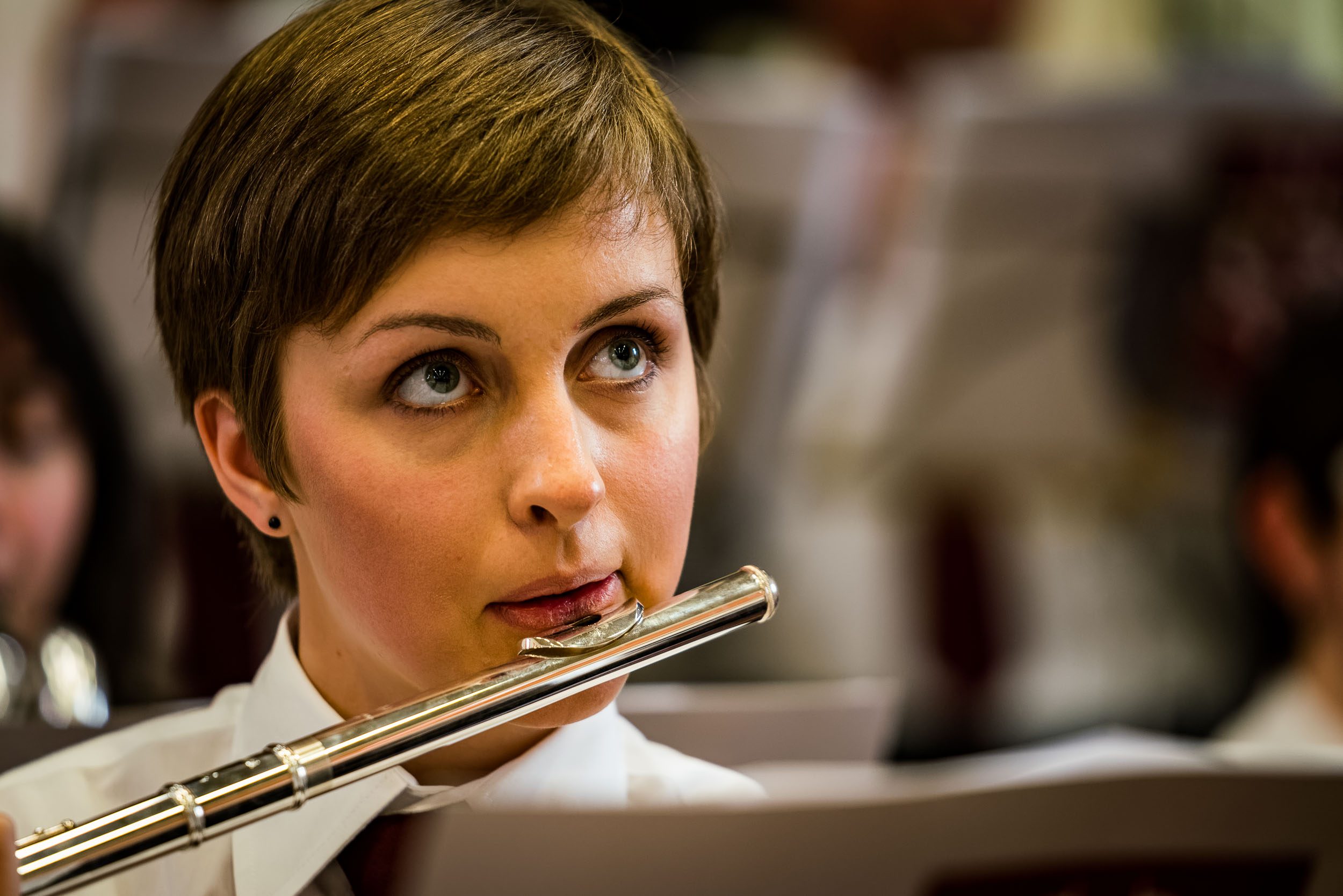Concert Photography of Classical Music Performed by a Brussels P