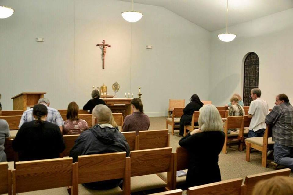 Adoration & Reconciliation - Wednesday Adoration 9am-10pmReconciliation Tuesdays & Thursdays after 8:00am MassSaturdays at 4pm& by appointment