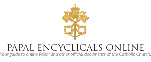 Click here to read official documents of the Catholic Church from any Pope we've had!