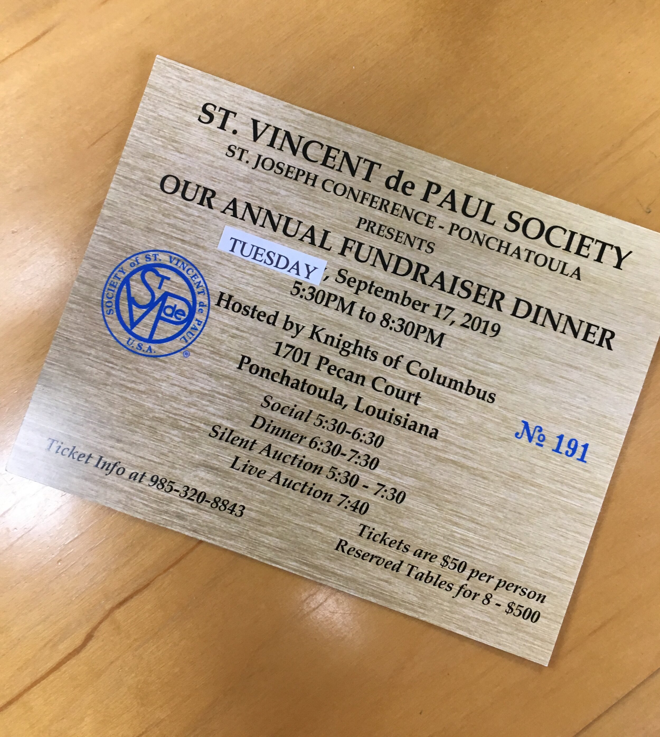 Saint Vincent de Paul Fundraiser Dinner.jpg