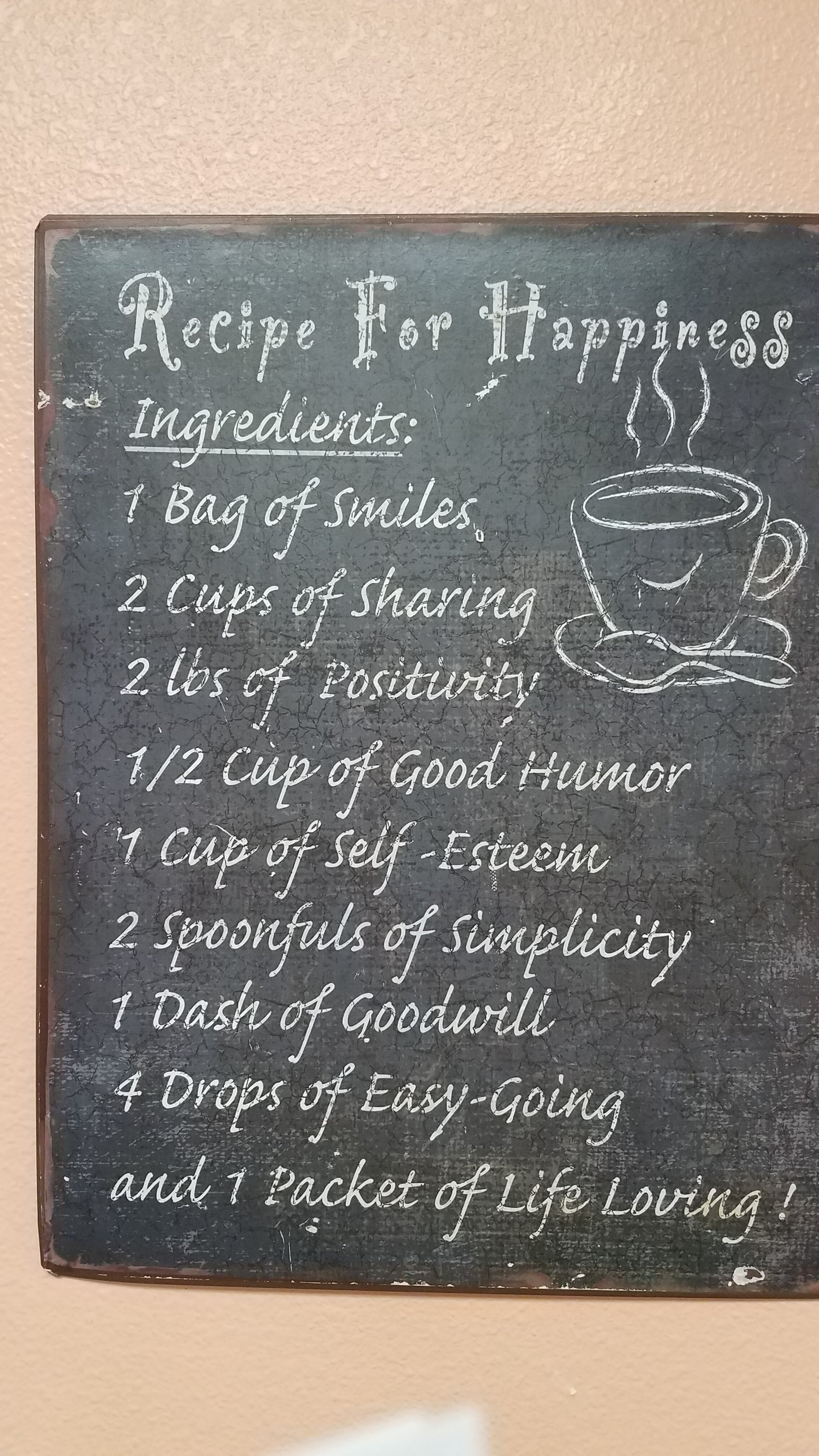 Recipe for Happiness - Widowed Friends
