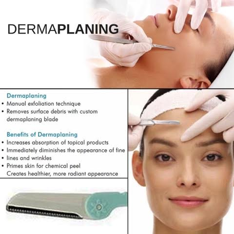 Dermaplaning exfoliationa and skin smoothing services offered by Magnolia Medical Aesthetics, med spa in Charlotte, NC  area, Fort Mill and Greenville, SC.