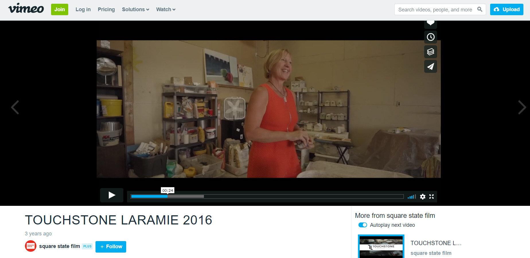 Touchstone Laramie , René Williams 'Artist Feature', 2016