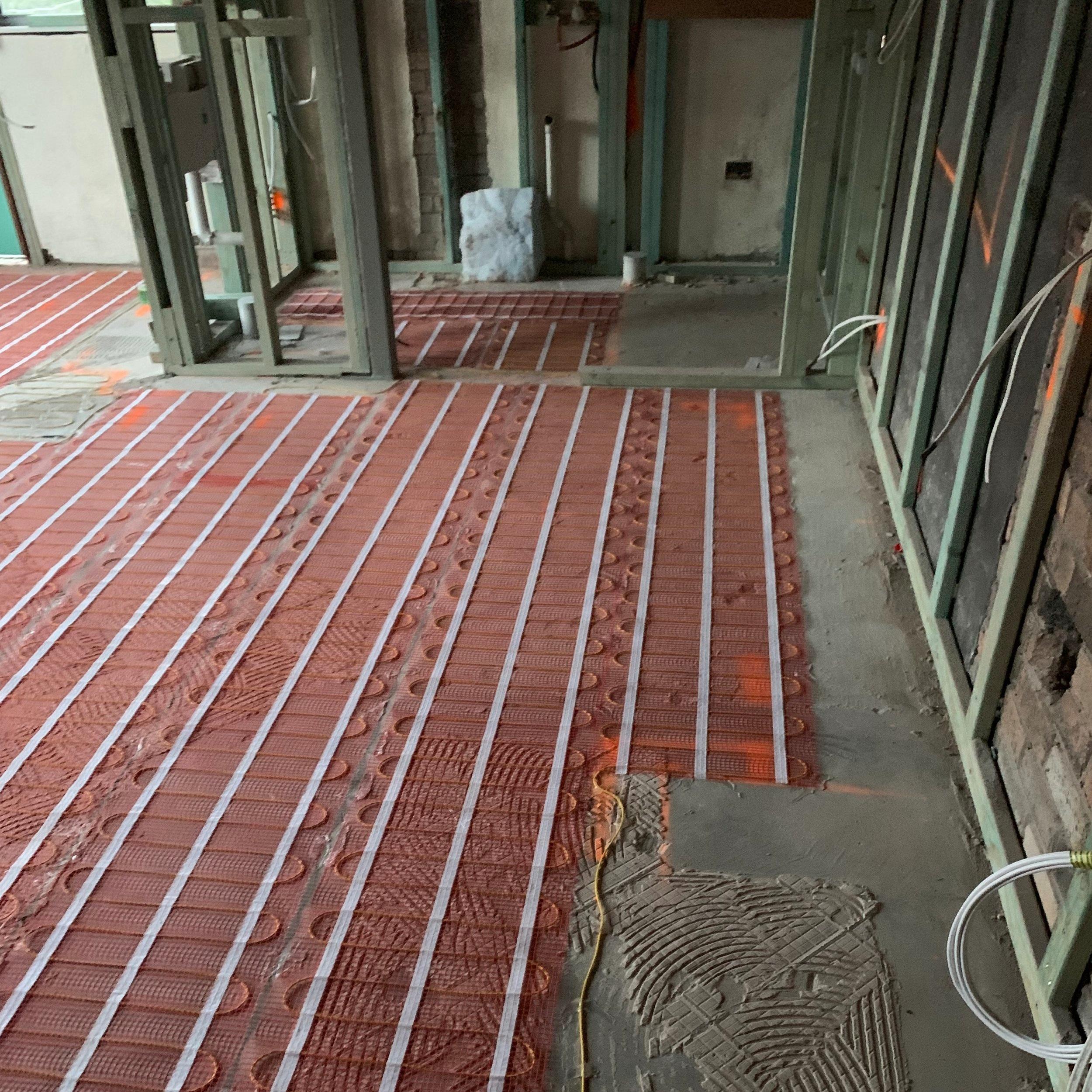 Underfloor Heating -