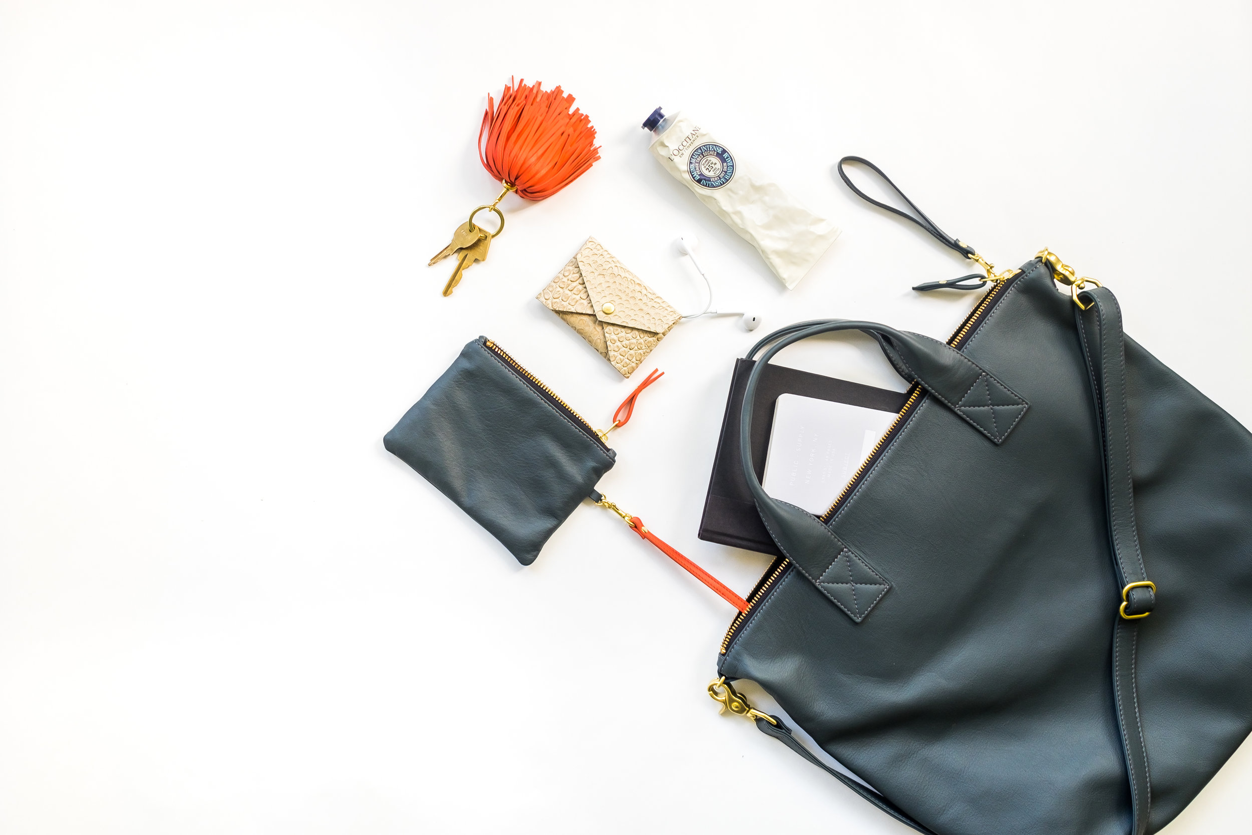 Blair Ritchey Leather Handbags - Product Photography