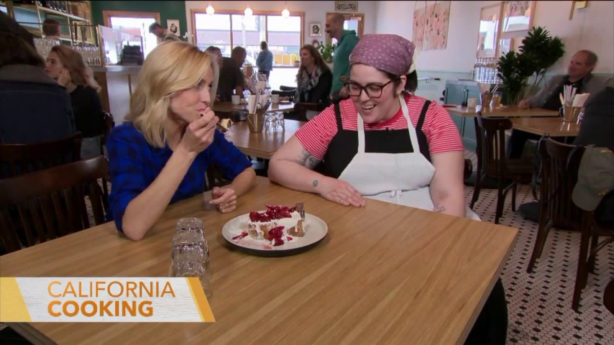 KTLA CHANNEL 5  French Toast and Secrets to Baking the Perfect Pie With Fiona's Nicole Rucker