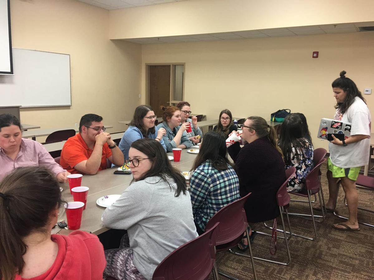The mental health awareness club Say Something hosted its self-care event to help students establish a sense of calm before the chaos of final exams.  By Ashley Smith, Staff Reporter