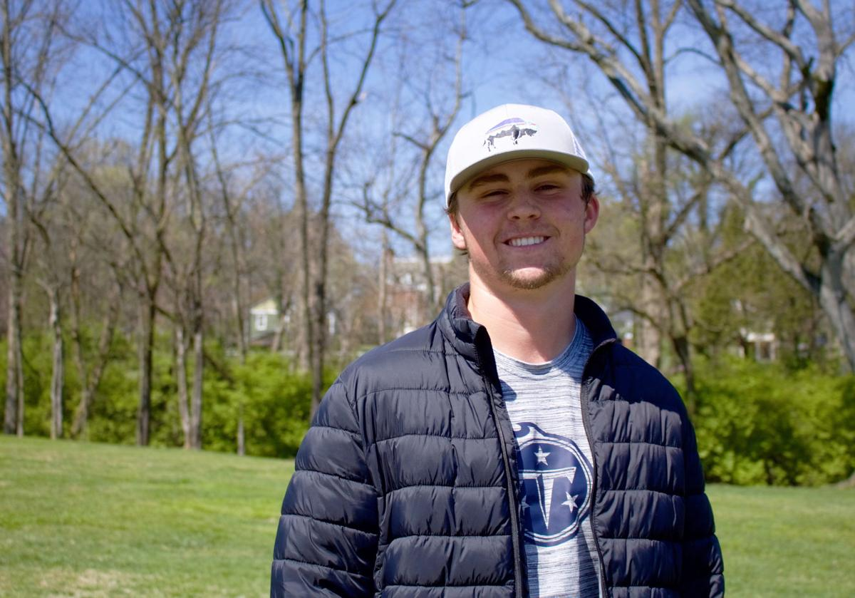 Butler, a mathematics major from Chattanooga, Tennessee, began playing baseball when he was young. While there were multiple options he could have chosen, baseball seemed to feel the most natural and pitching to be his position.  Photo by Chloe Durham, staff photographer