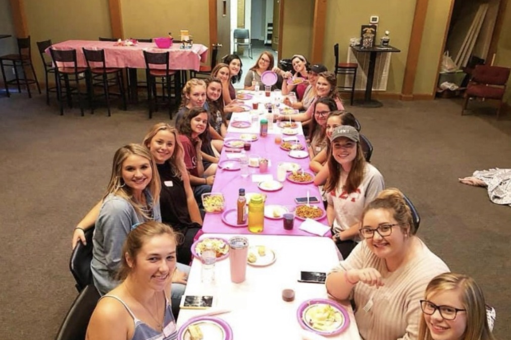 """[These are] some of the most foundational years of their lives, and we have the chance to make an eternal impact on them before they even reach the high school level,"" Vice President of Life 423 Hannah DeVine said.  Photo courtesy of Hannah Morris"