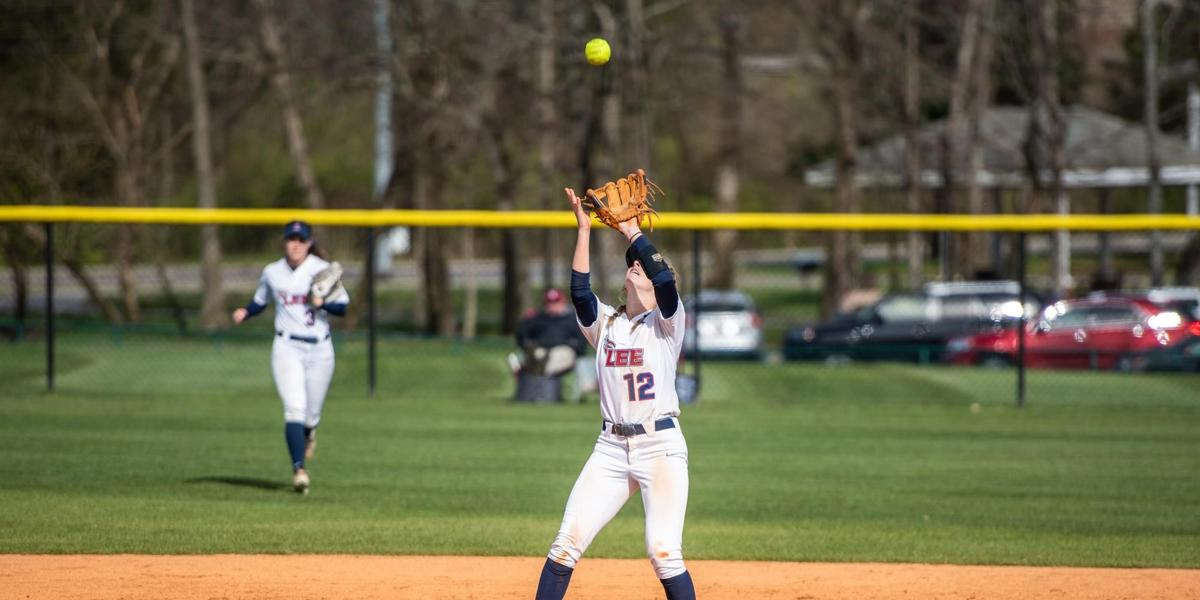The Lady Flames softball team fell short this weekend to a double-header against the Mississippi Choctaws. Despite the loss, the team continues to press forward for their next match against Christian Brothers March 23.  Photo courtesy of GoLeeFlames.