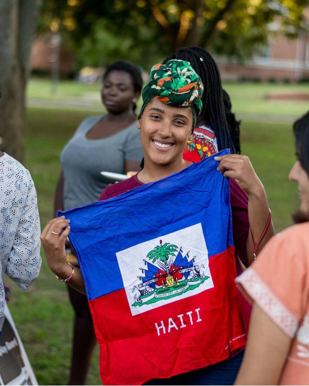 President of the Black Student Union Vanelissa Cadet appreciated the event's focus on cross-cultural unity and acceptance.  Photo Courtesy of EVS