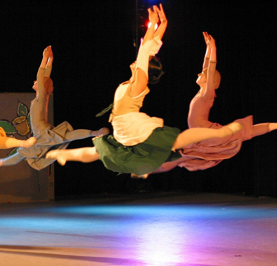 Ballet Magnificat! is professional Christian dance company that travels the globe to put on performances. Their goal is to minister to others by storytelling through dancing, which often speaks in ways that words alone cannot express.  Photo courtesy of the Office of Public Relations