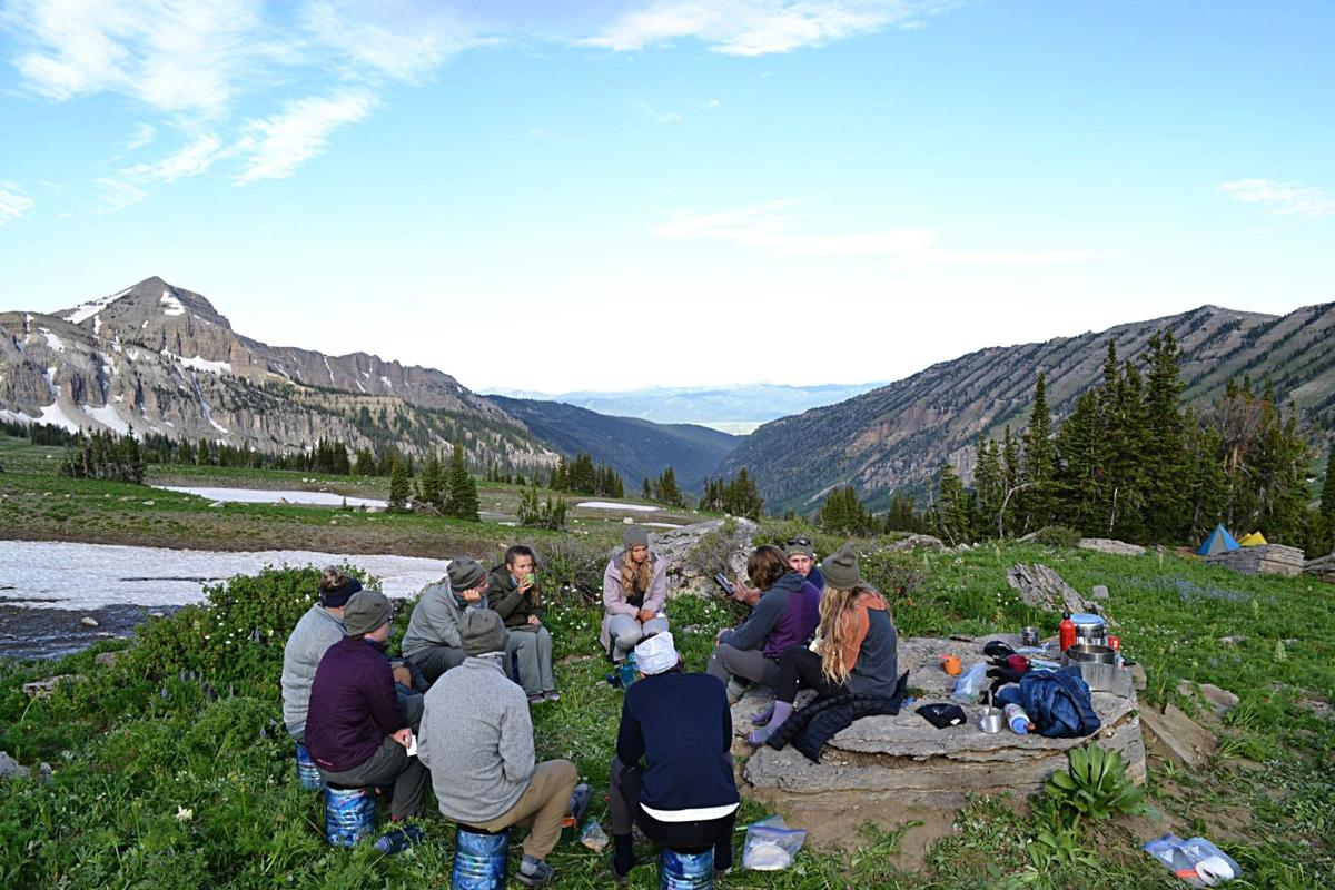 From trekking through the heart of the alpine wilderness to studying Scripture with friends, TRAIL Ministries aims to provide a safe space for students to grapple with life's questions.  Courtesy TRAIL Ministries