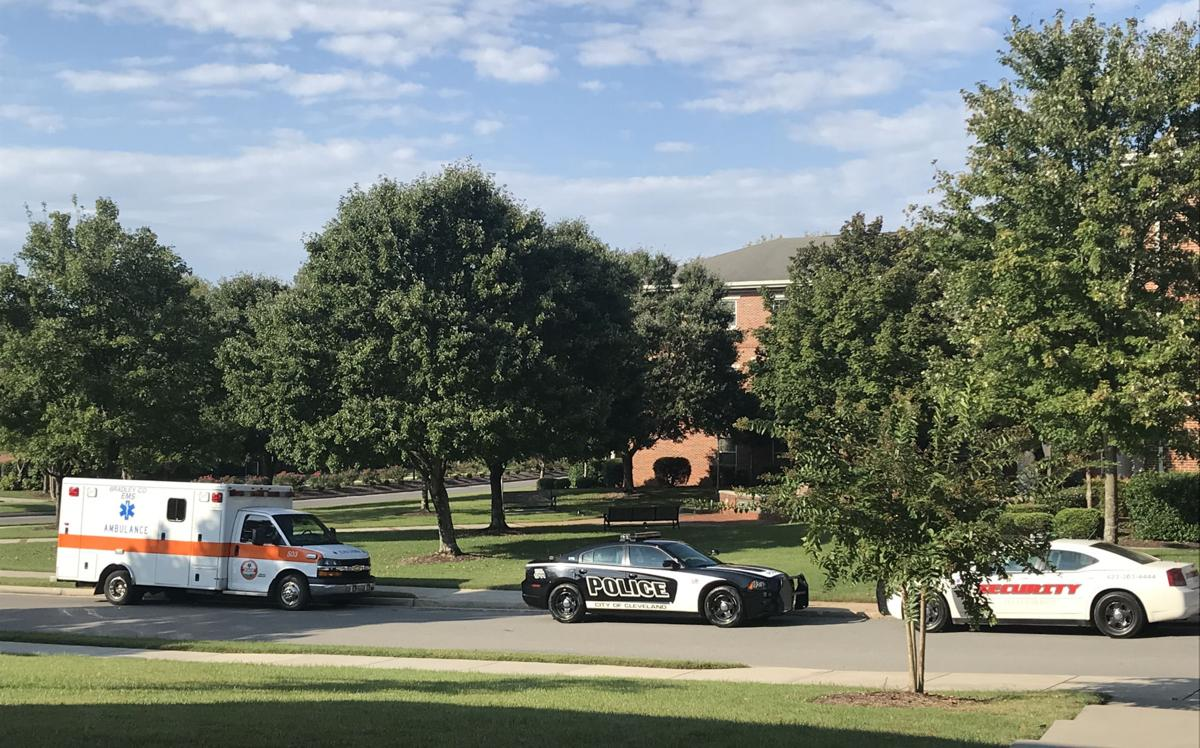 Sunday, authorities responded to Mayfield Annex to investigate a sexual assault.  Photo by Kristen Templeton