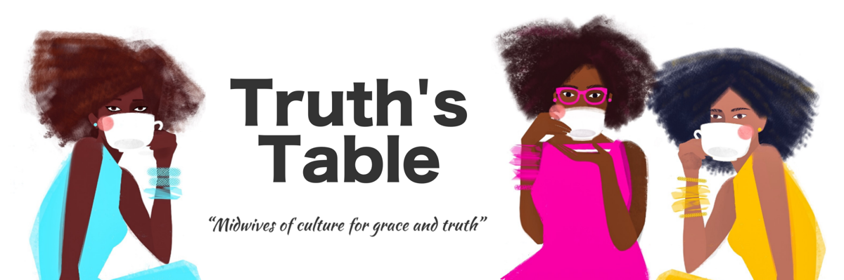 """""""It's this idea that as white people we can choose whether to engage or not, but if this is the color of your skin, this is your life,"""" Dr. Mary McCampbell said about the """"Truth's Table"""" discussion.  Courtesy of Truth's Table"""