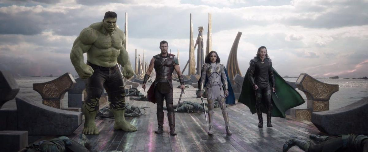 Thor: Ragnarok crushed the box office with a whopping $121 million in its opening weekend.  Courtesy of SlashFilm