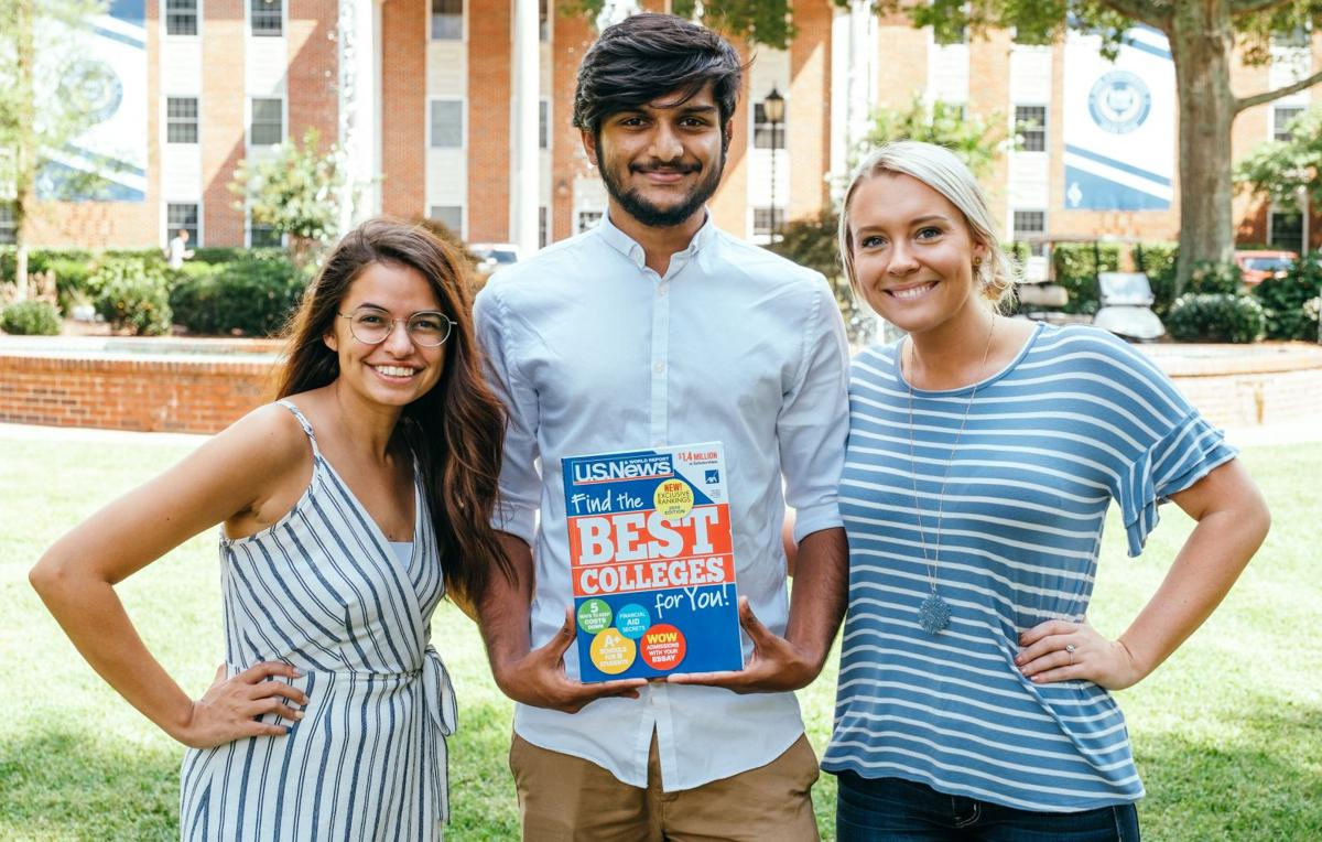 U.S. News and World Report recently ranked Lee in the Top 50 of best Regional Universities for the southern region.  Courtesy of Lee University Office of Public Relations