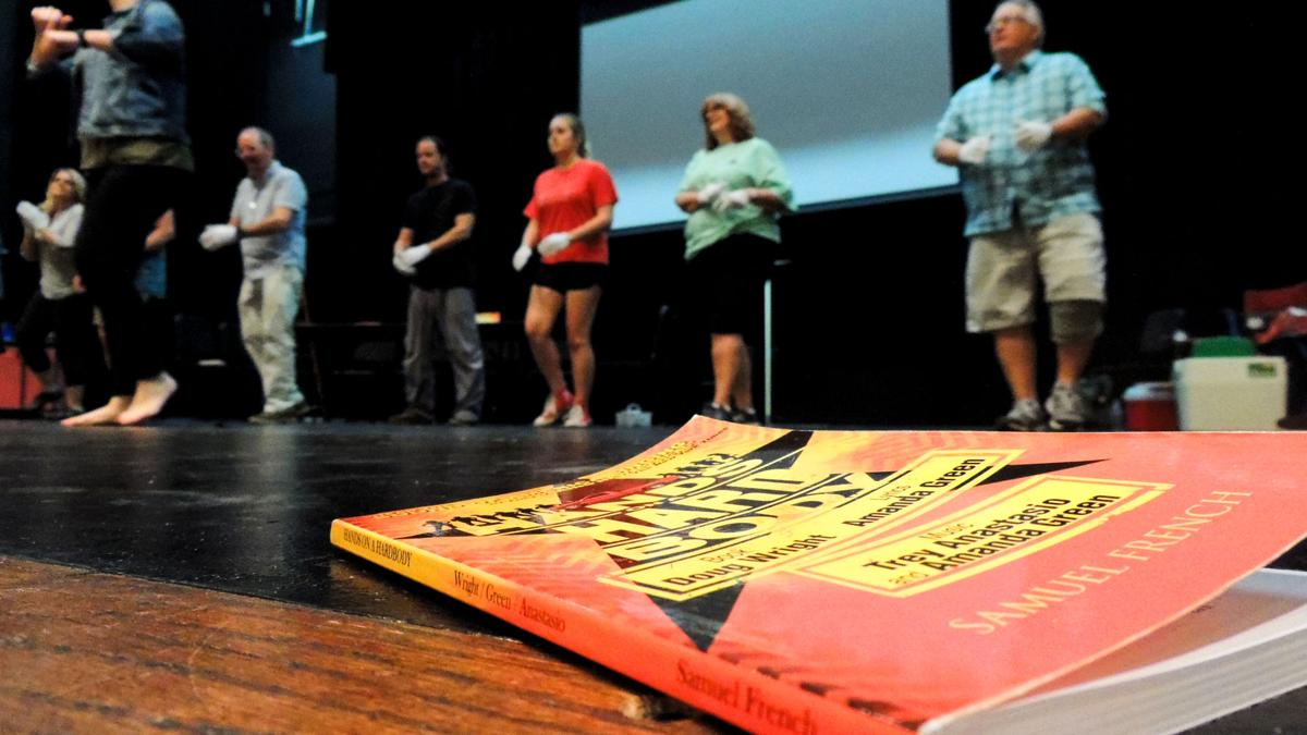 """""""This is a real asset we have in our community,"""" cast member Tricia Pennington said of the production. """"Doing a Broadway show at this local level is really good for Cleveland.""""  Courtesy of Tori Thiessen, Life Section Editor"""