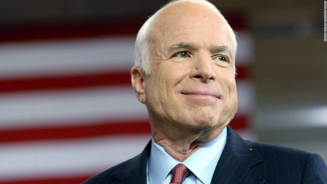"""""""John McCain was a model of engaged citizenship,"""" Associate Professor of Political Science Thomas Pope said. """"He saw politics as a practice of deliberating about our highest ideals, hoping to manifest them in law.""""  Courtesy of Associated Press"""
