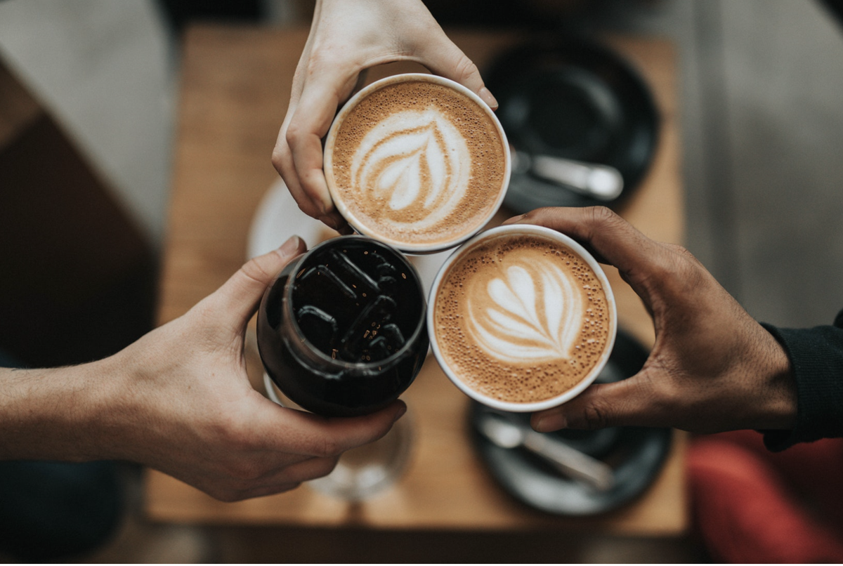 Meeting friends for coffee is the #1 pastime for college-aged students. Is their health at stake?  Courtesy of Nathan Dumlao