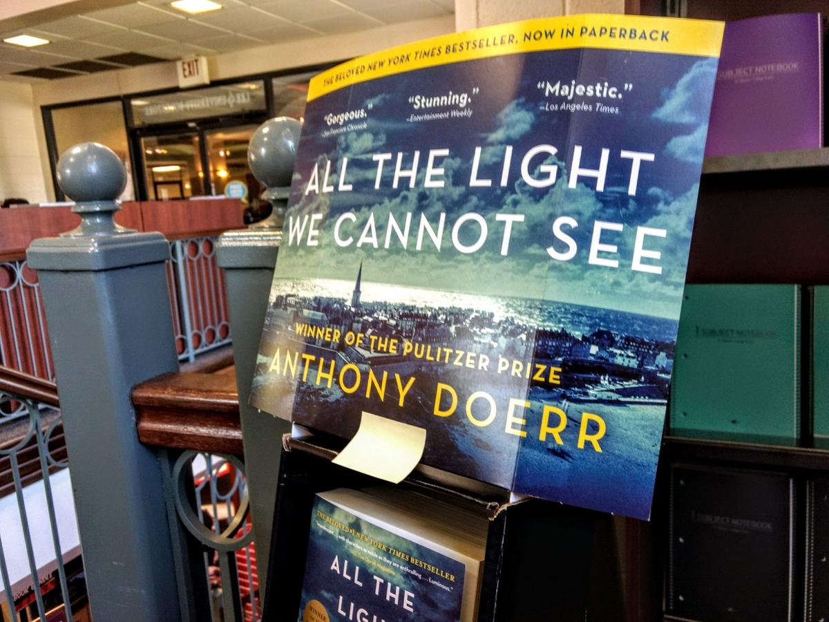 Find your copy of  All the Light We Cannot See  in the LeeU bookstore!  Photo by Emma Ayers