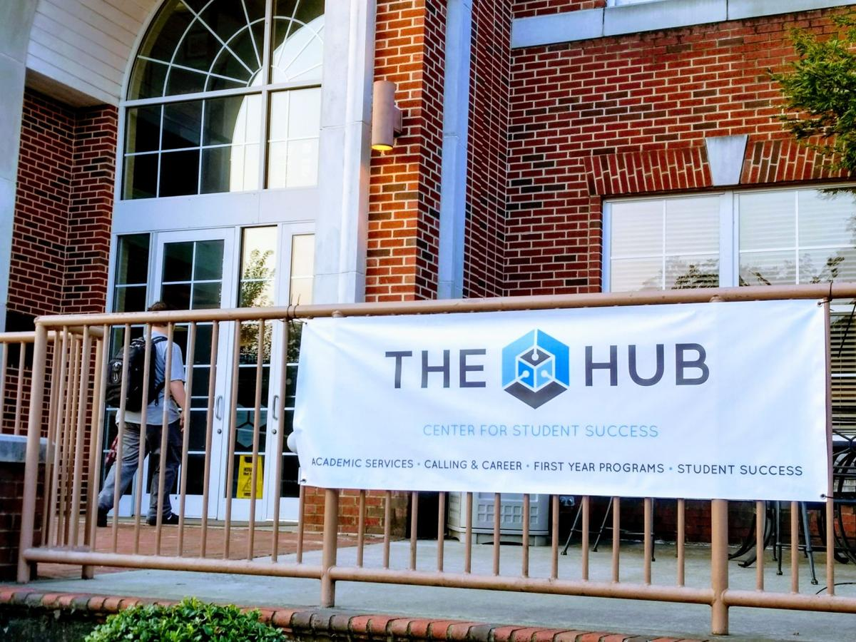 Students seeking academic help can now find it at the HUB, Lee's brand-new student success center.  Photography by Emma Ayers