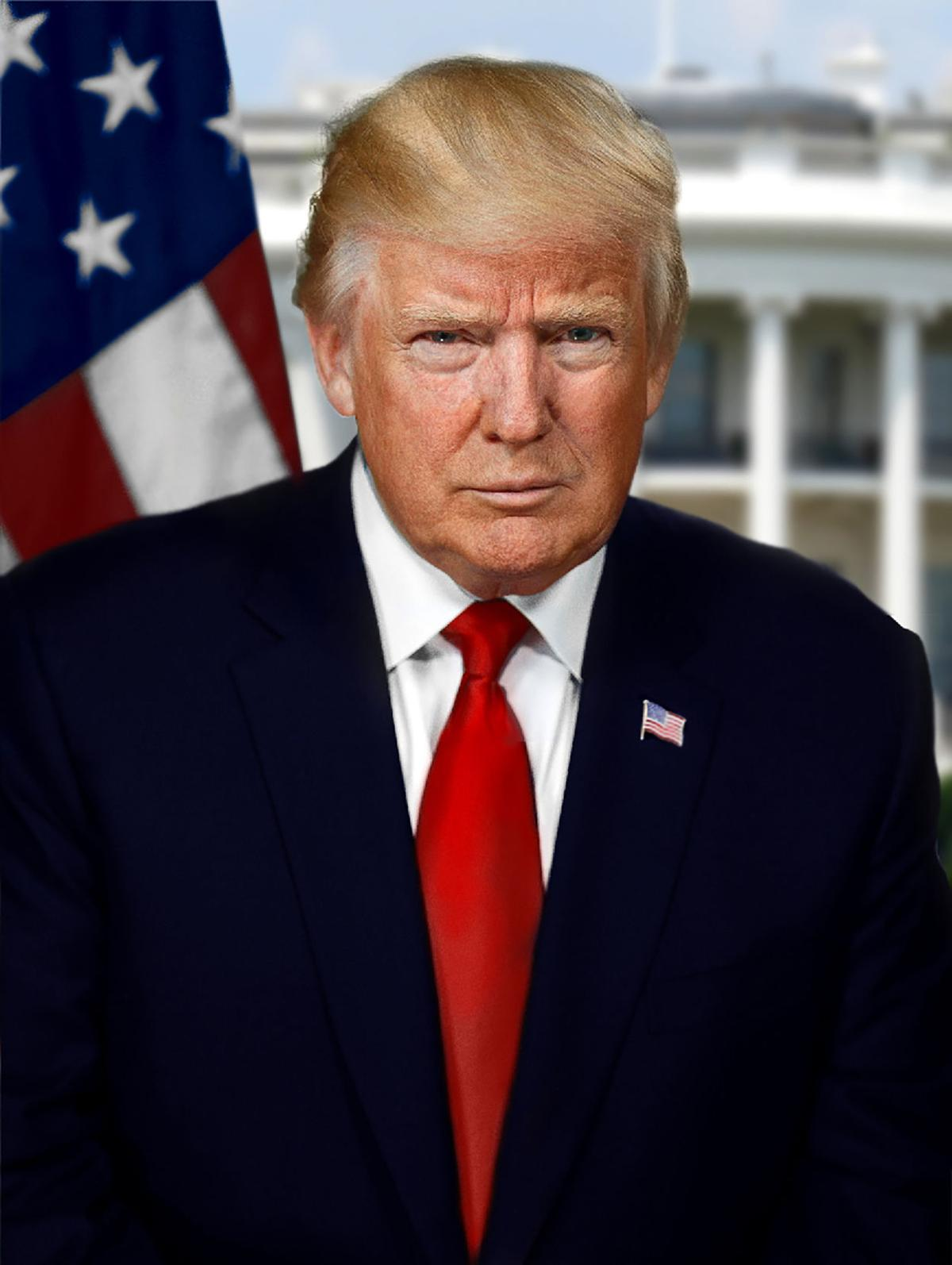President Donald Trump  Source: Wikimedia Commons