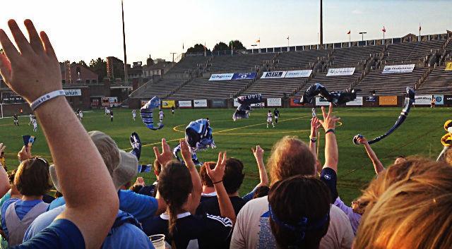 CFC fan club, the Chattahooligans  taken by Alex Farmer