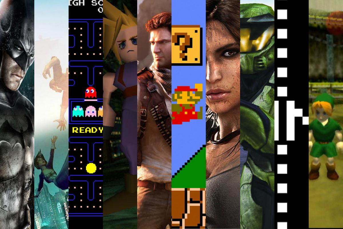 The evolution of gaming. Graphic by Kaitlyn Anderson.