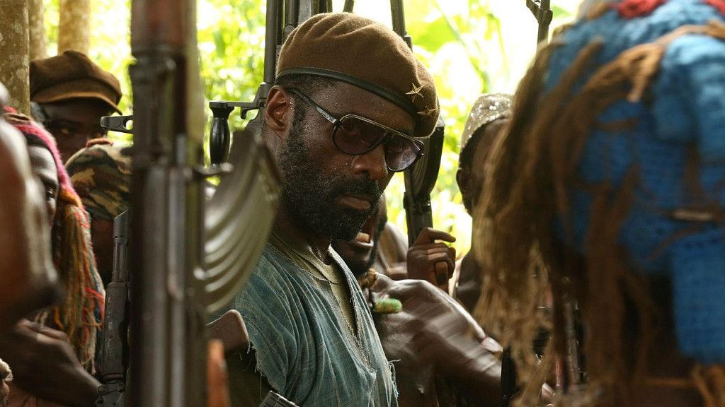 "Idris Elba in ""Beasts of No Nation"" (Photo:  cinemablend.com )"
