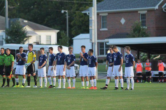 Lee men's soccer opened their season at home against Tennessee Temple.Photo by Jaclyn De Vries