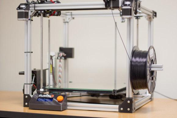 3D Printer in Squires Library. Photo: Austin Gunter