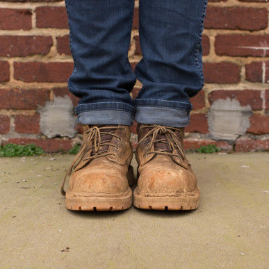 Oscar Palin's boots