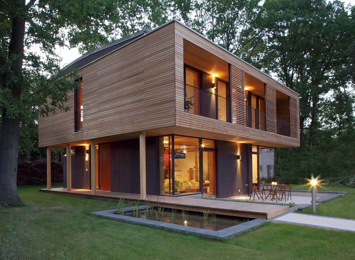 A beautifully designed passive house | Vallentin Architecture | Germany
