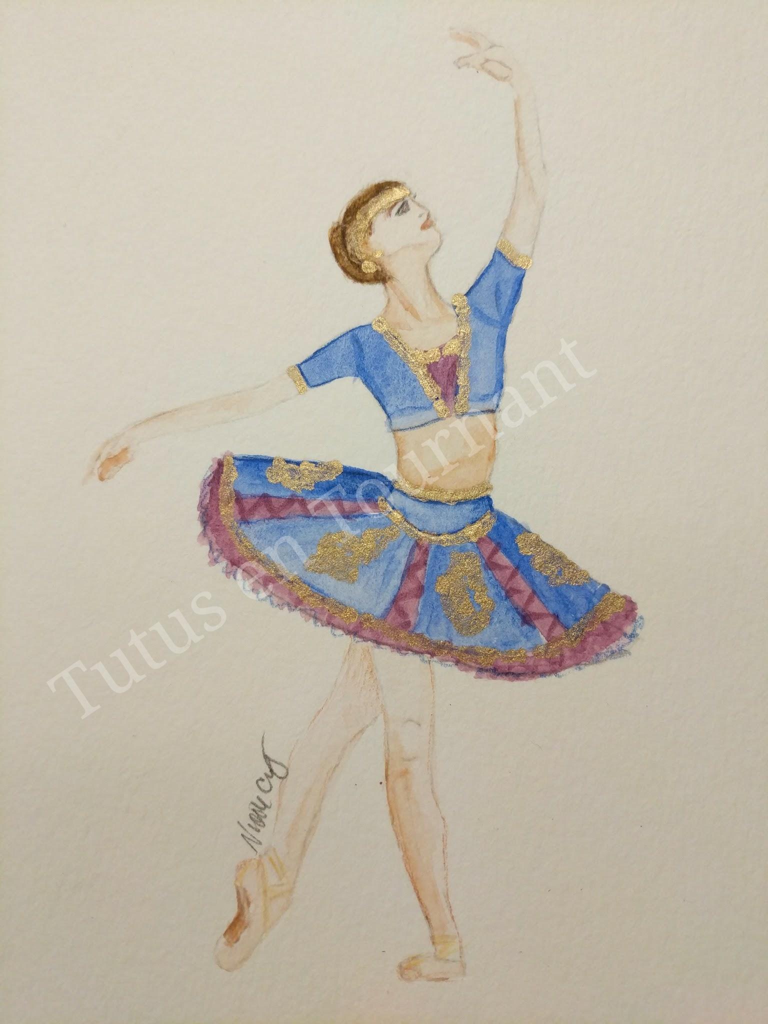 Original design for the Dancer