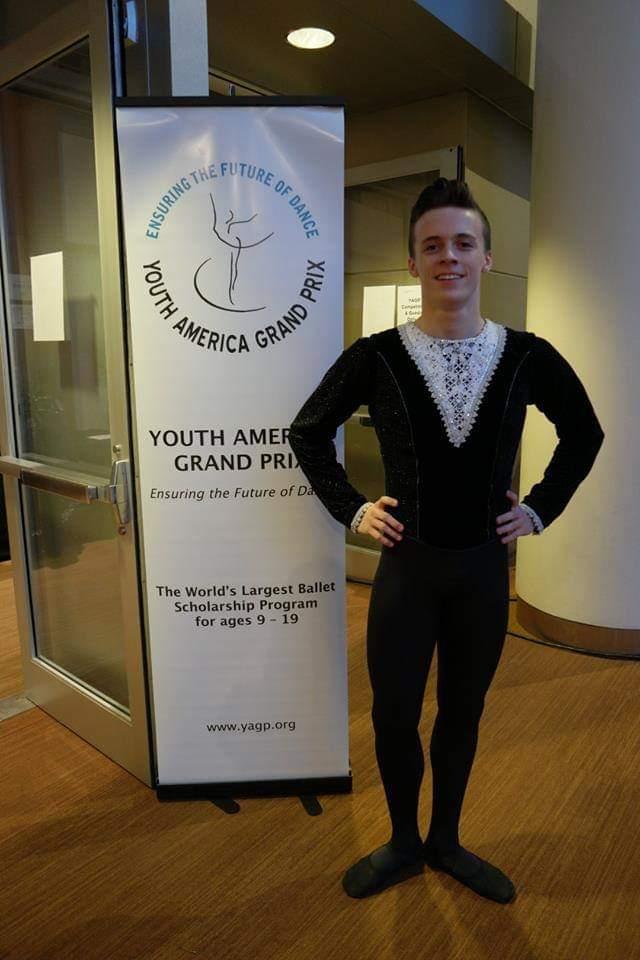 Men's ballet tunic