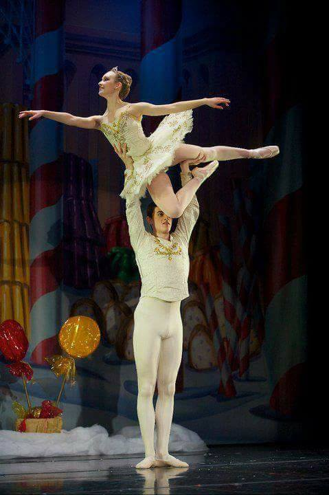 Sugar Plum - classical ballet tutu  Photo: Troy Wayrynen (with courtesy of Columbia Dance, Vancouver, WA)