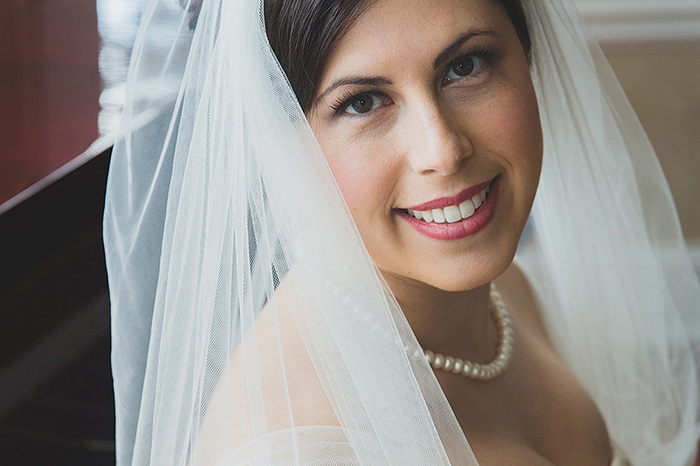 "Carrie's Wedding - ""…thank you for the amazing job you did on my bridal makeup. I received so many compliments on how good it looked, and I loved how natural it looked and felt. As you know, I was worried about MANY things the day of my wedding, but I never once had to worry about my makeup!"""