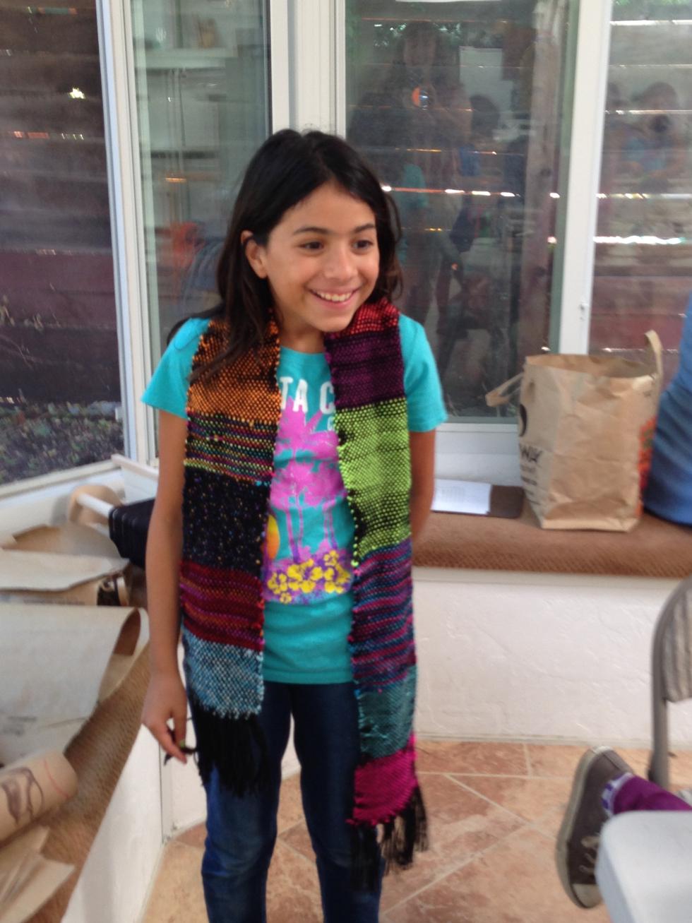 4th grader scarf