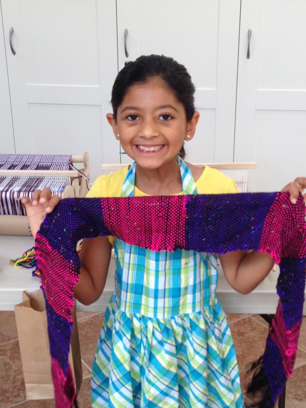 3rd grader scarf