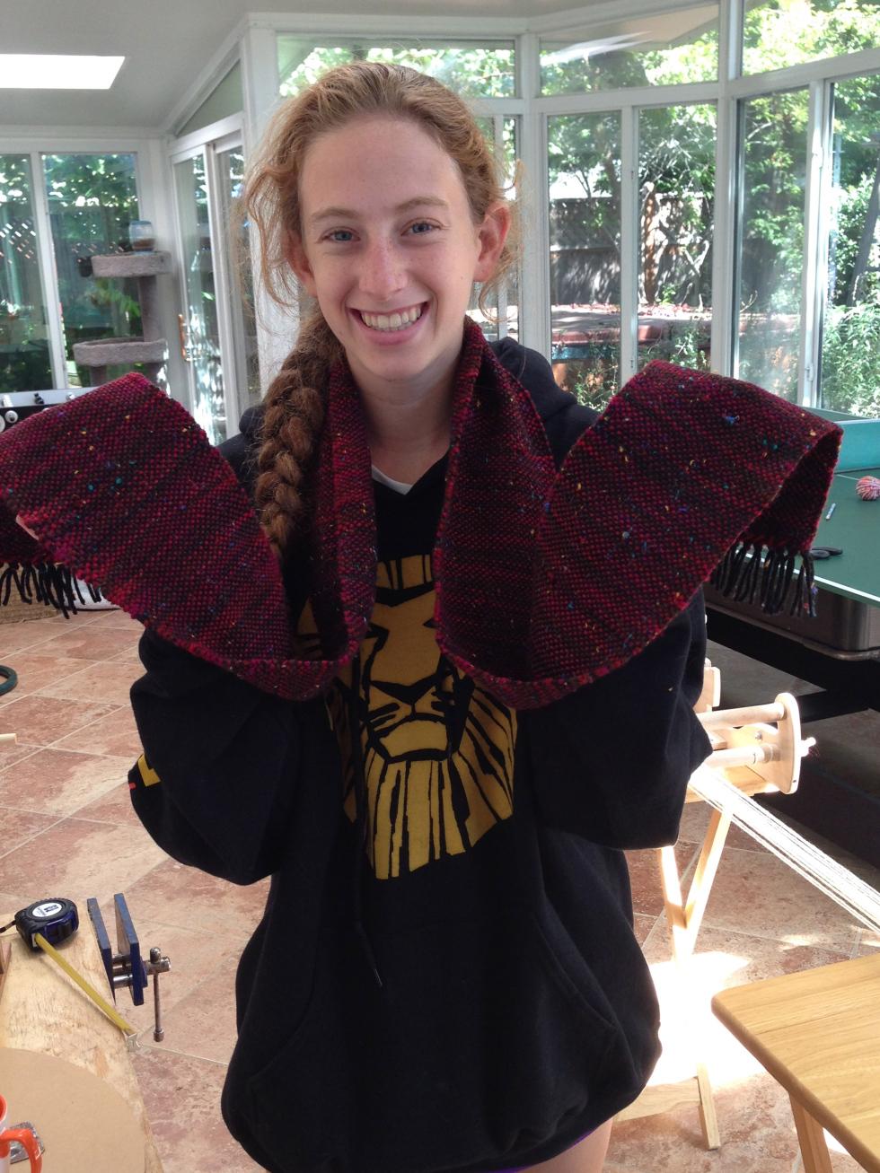 11th grader scarf