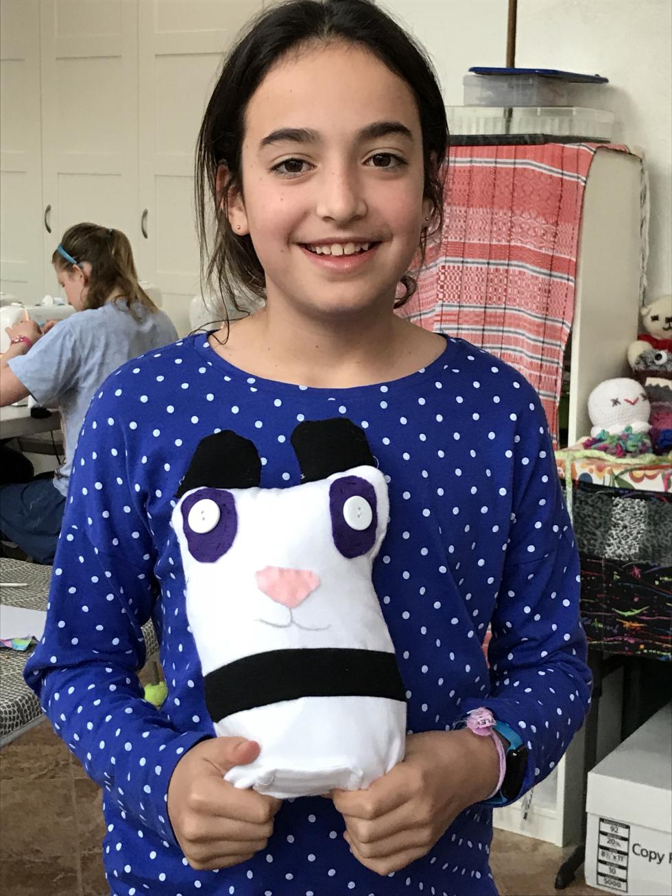 11 year old panda