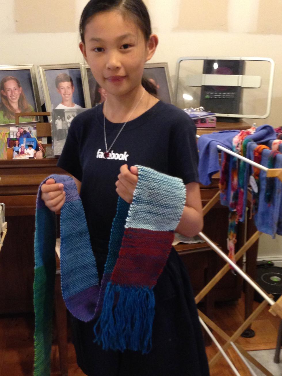 6th grade scarf