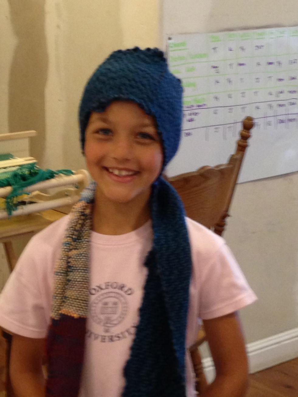 2nd grade scarf