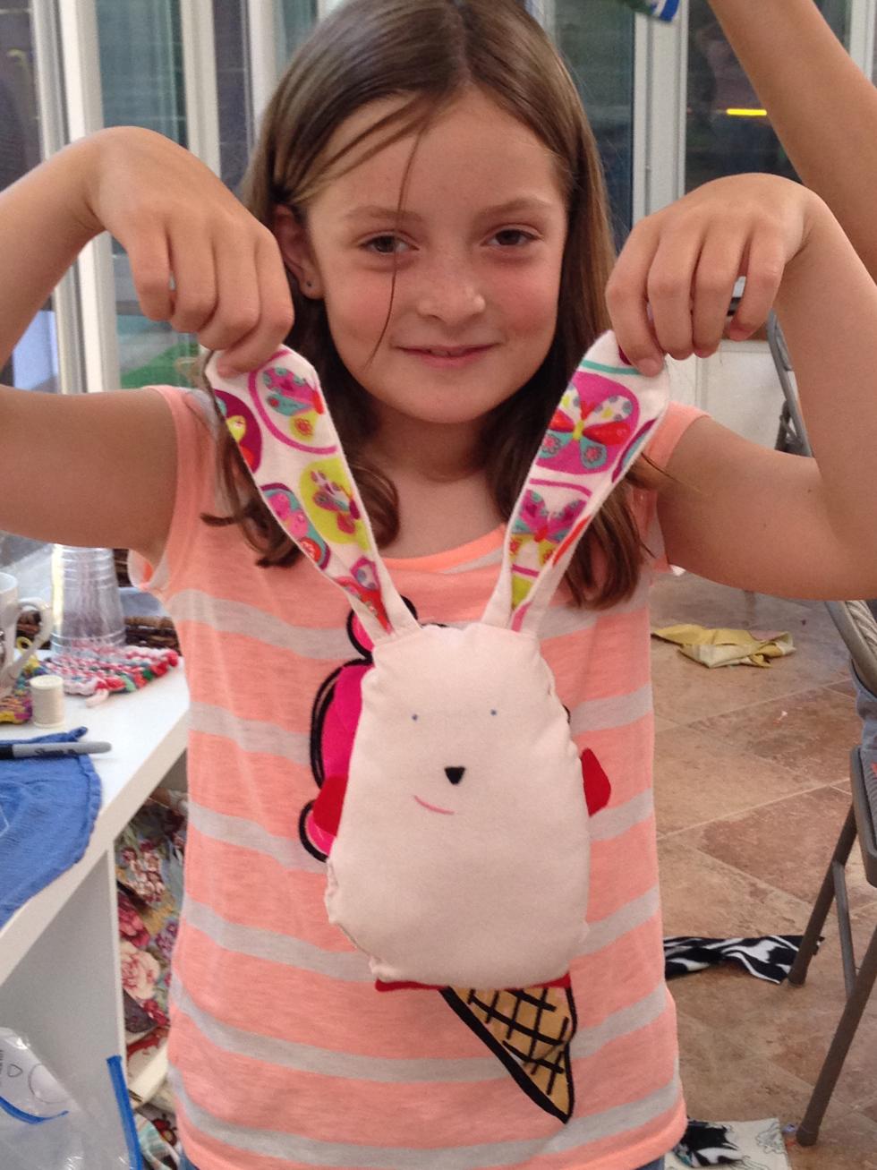 5th grader bunny