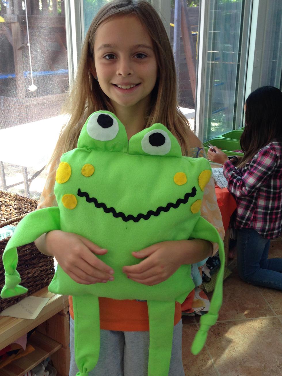 4th grader froggy