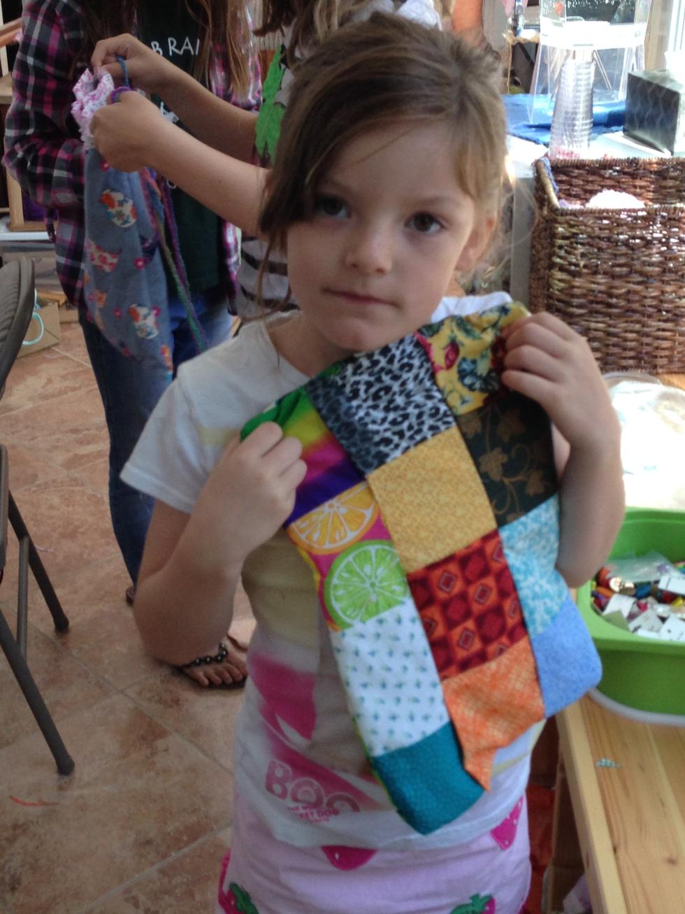 1st grader quilt