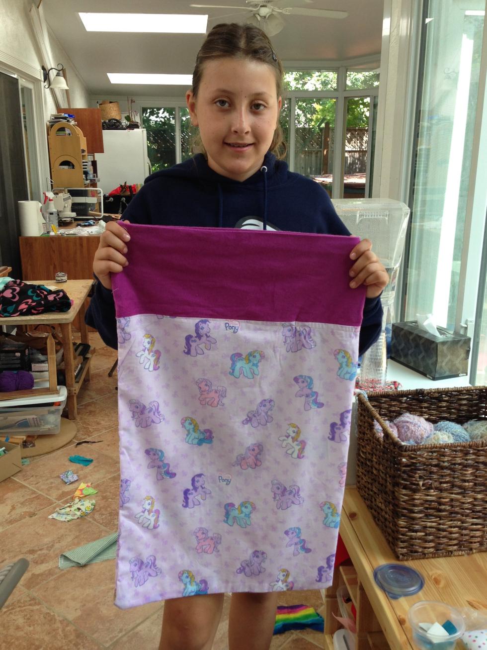 5th grader pillow case