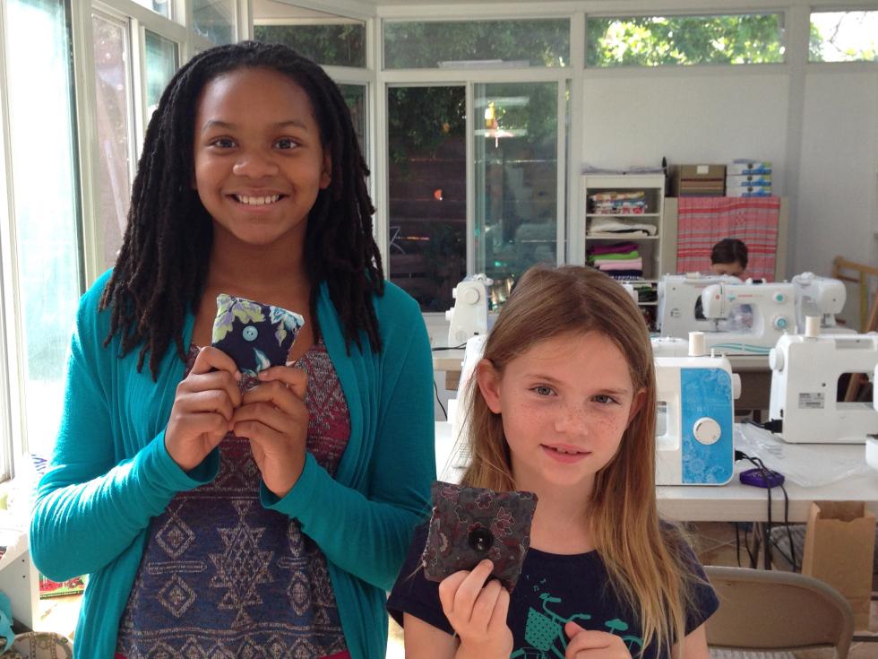 7th grader and 3rd grader sachet